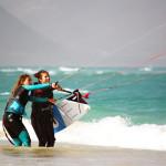 debuter en kite surf cap vert