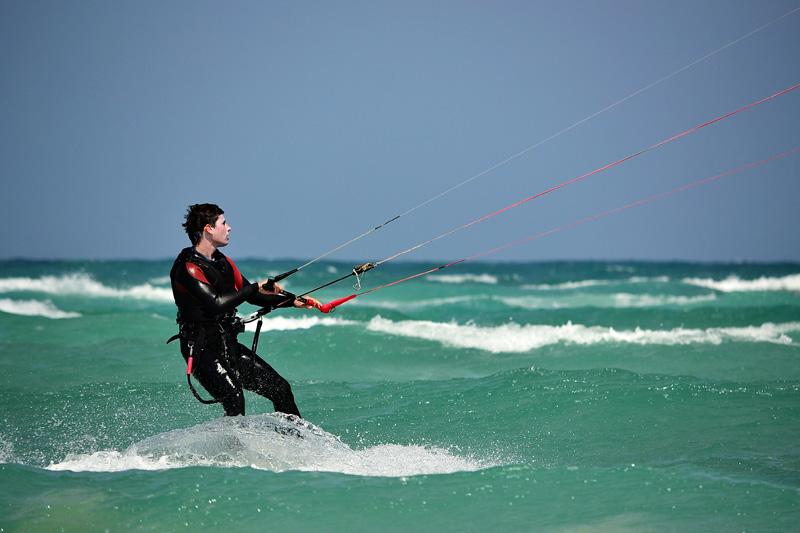 tirer des bords en kte surf