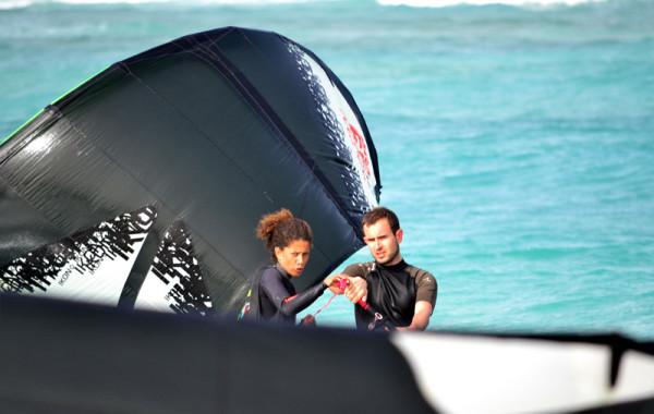 Leçon particulière de kite surf