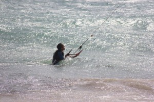 kite surf beguiner school cabo verde