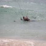 kite surf nage tractée