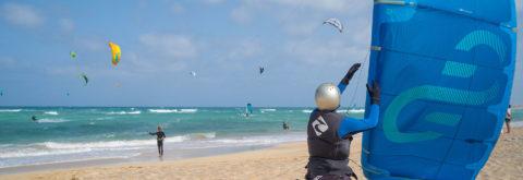Apprendre le Kitesurf au Cap-Vert